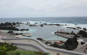 The famous pools of Port Moniz
