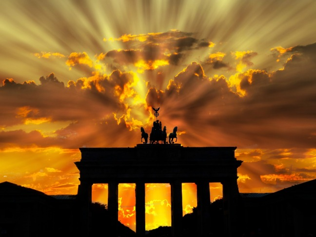 brandenburger-tor-dusk-dawn-twilight-64278
