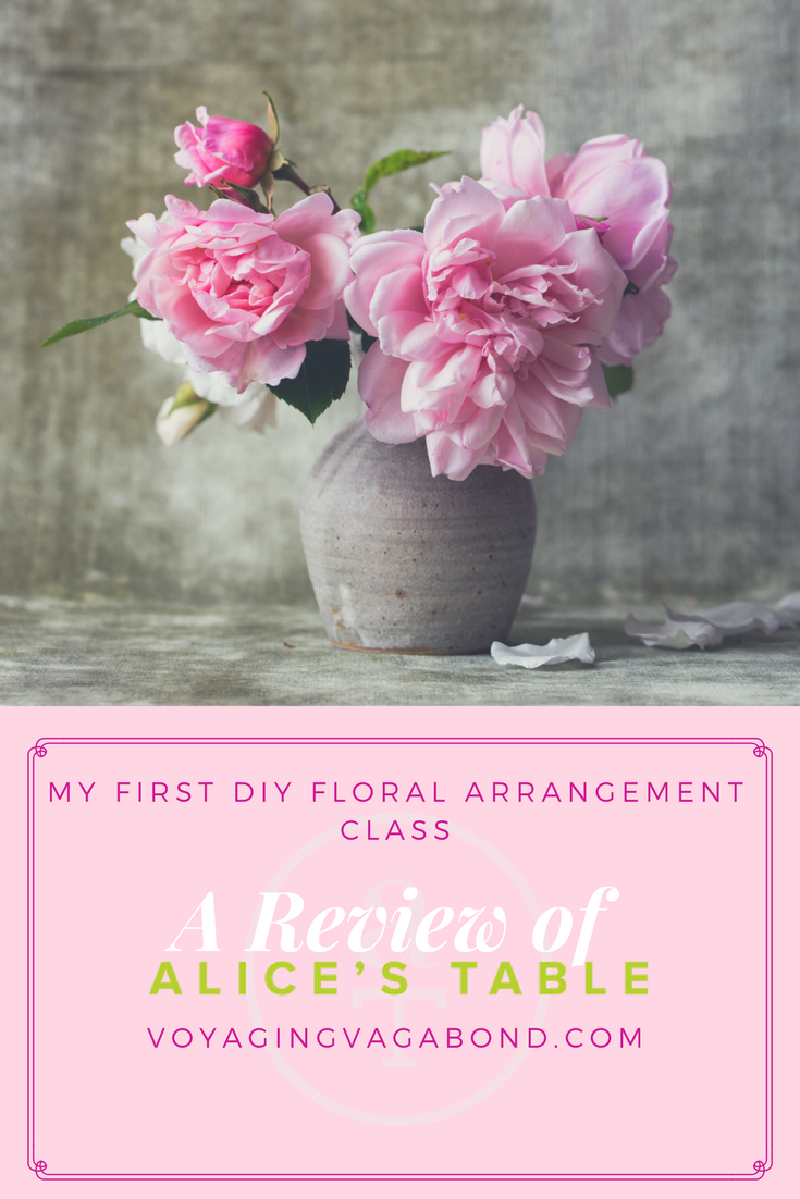 Be the first to review spring flowers cancel reply - My First Diy Floral Arrangement Class A Review Of Alice S Table Voyaging Vagabond
